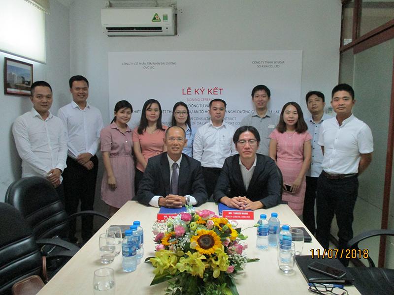 Lễ ký kết TK BVTC 15 Biệt Thự tại Đà Lạt Resort